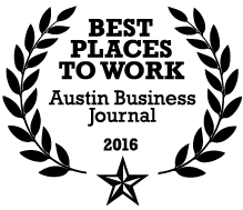 2016 Best Places to Work Award logo