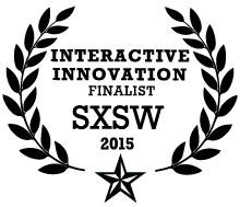 2015 SXSW Interactive Innovation Award logo