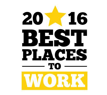 2016 Austin Business Journal Best Places to Work List