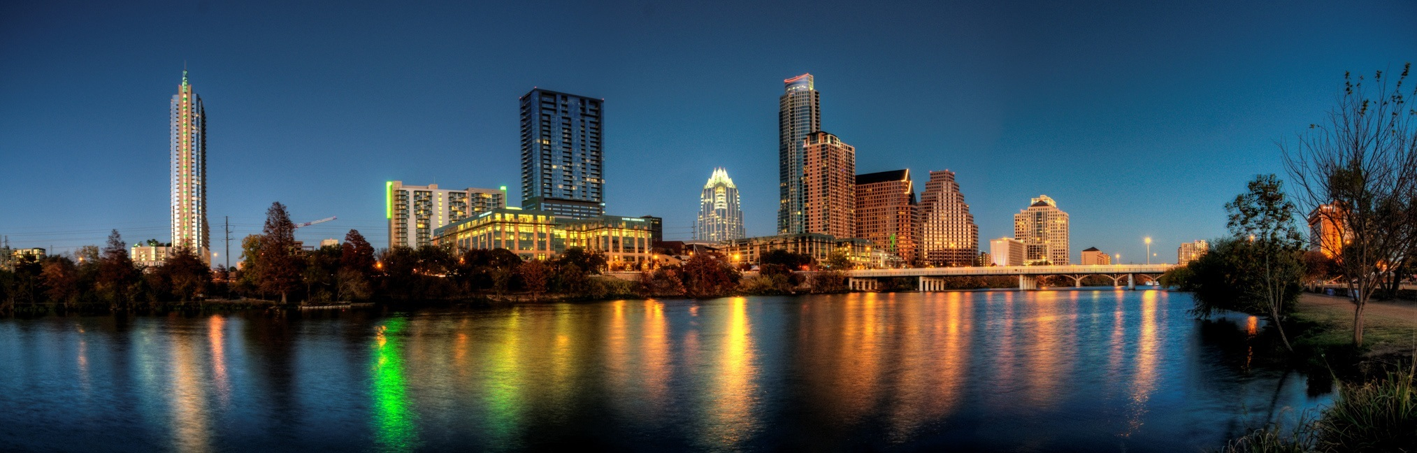 Austin Web Development - skyline