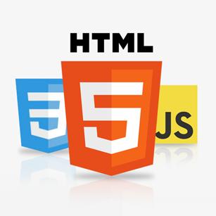 HTML CSS Javascript logos
