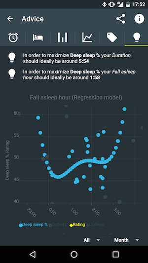 Sleep As Android Mobile App Screen