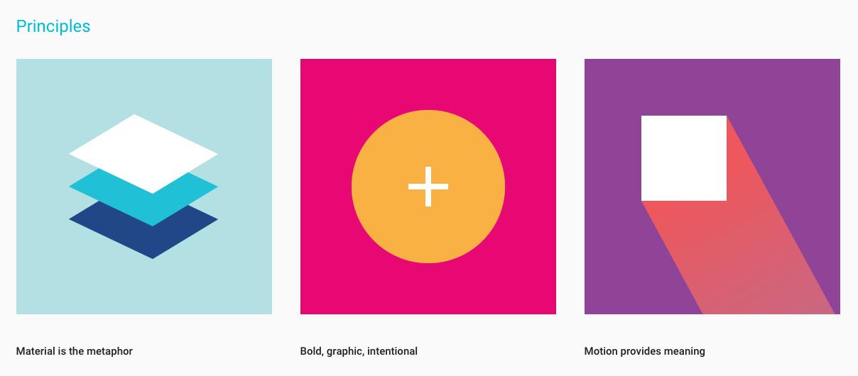 Material Design Principles