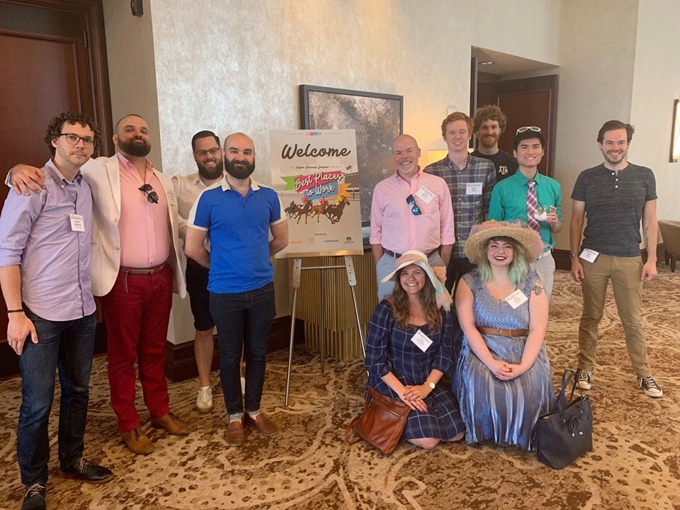 Best Places to Work Austin 2019 Team Photo