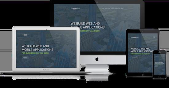 Responsive website demo