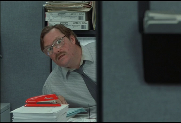 Milton from Office Space - bad employee