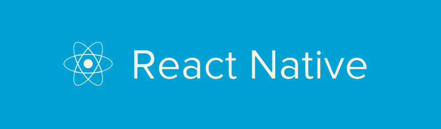 The React Native Logo. React Native is a framework for building native apps using React